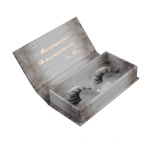 Square shape Magnetic closure Eyelash Box