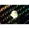 Novelty Shine Through Keycaps 3d printed print printing pla eva00 custom mechanical keyboards light Cherry MX compatible