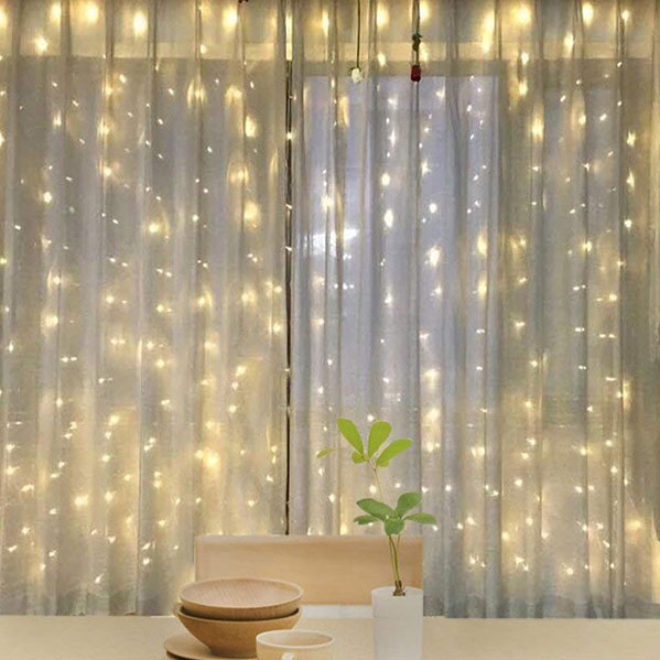 christmas led waterproof curtain light