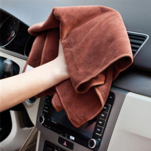 400gsm microfiber car towel with low price