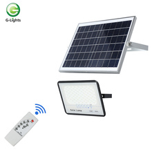 waterproof outdoor 50-300 watt led solar power floodlight