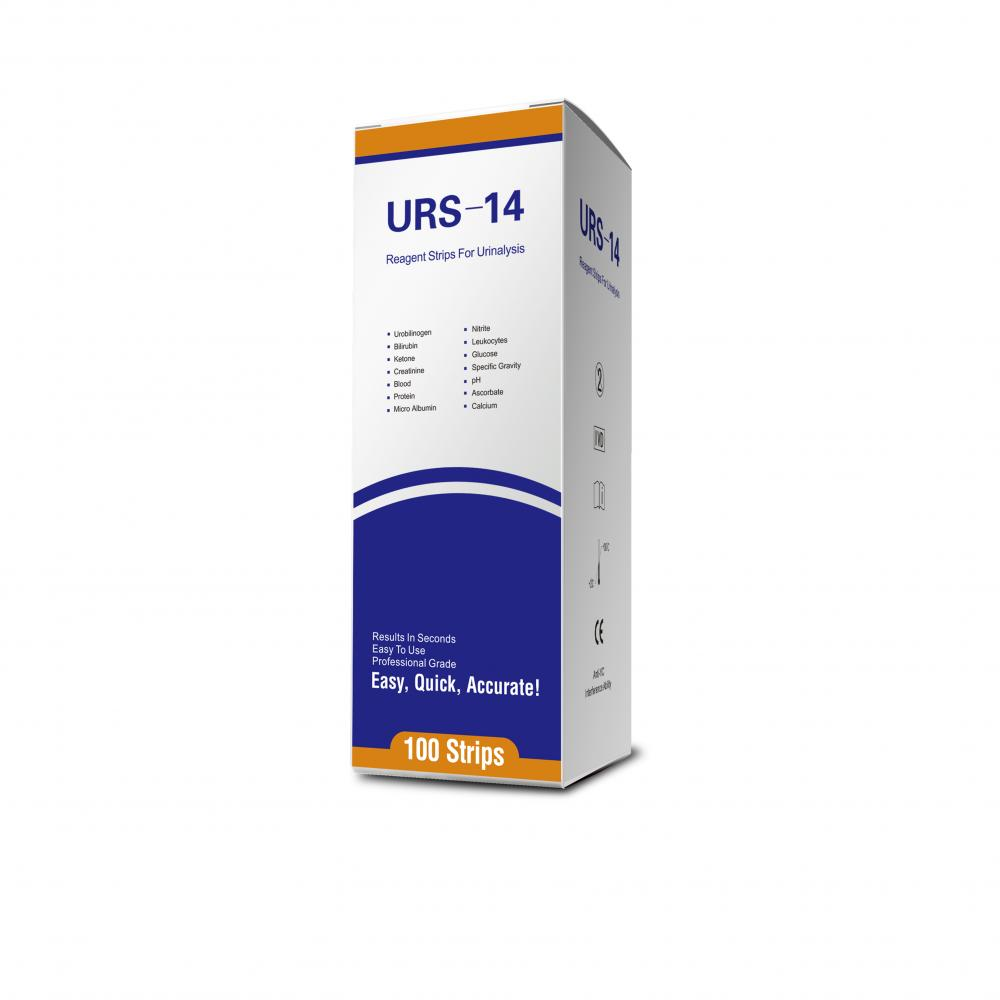 easy home urine 14 para test strips