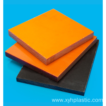 Orange Red or Black Bakelite Laminate Sheet