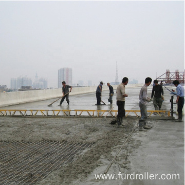 The cement is smooth Roller burnishing concrete truss screed machine FZP-130
