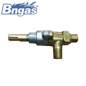 Brass gas safty valve with nozzle