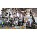 Wheat straws wood sawdust pellet production line