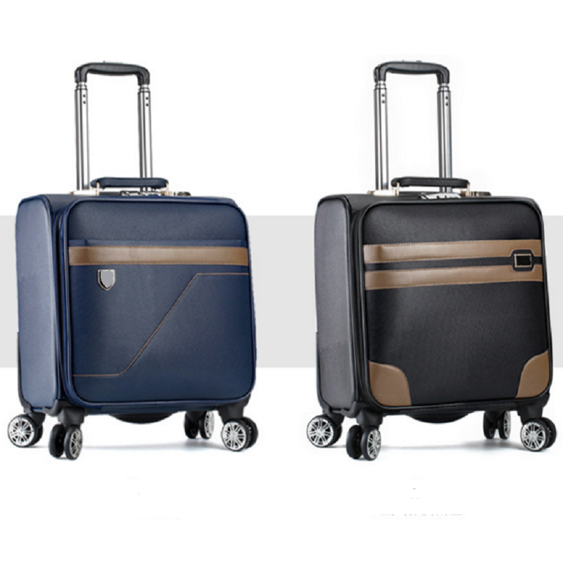Small capacity pu luggage