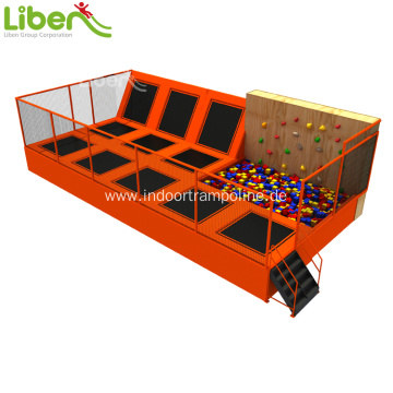 indoor kids small trampoline for shopping mall