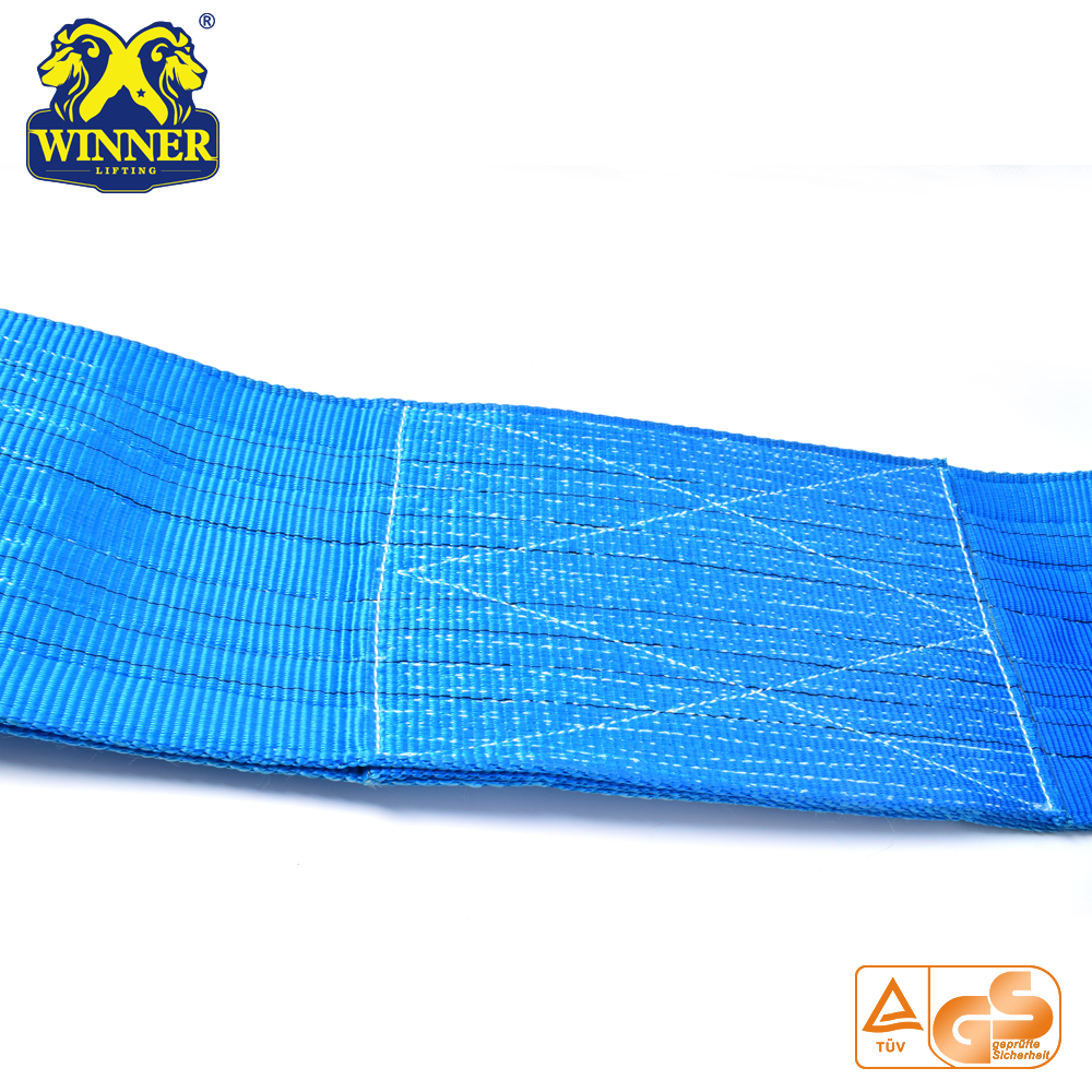 Polyester Flat Woven Seat Belt Webbing Lifting Sling