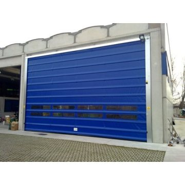 Factory high speed stacking folding up door