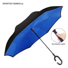 Rain Proof Double Layer Inverted Reversible Umbrella