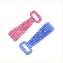 silicone washcloth towel pull back rub back artifact
