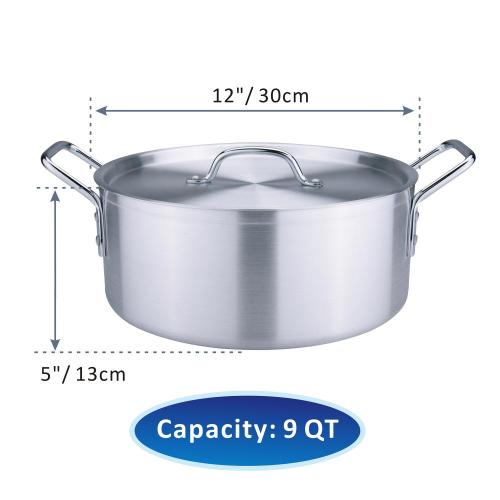 Heavy Duty Aluminum Sauce Pot Set