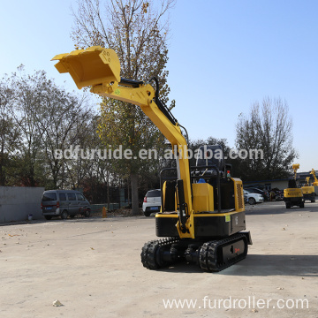 Nice Working Easy Control Mini Crawler Excavator For Concrete Pavement FWJ-900-15
