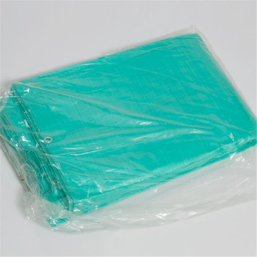 Green Silver Poly Fabric PE Tarpaulin Plastic Sheet