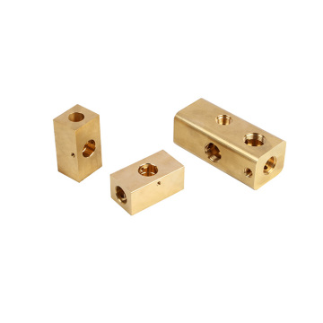 CNC Brass Connecting Base