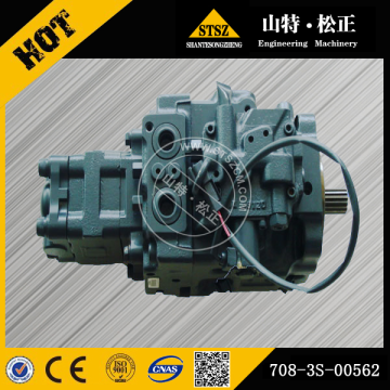 Komatsu part  PC50MR-2 Excavator hydraulic pump 708-3S-00562