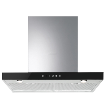 Smeg Chimney Cooker Hoods Stainless Steel