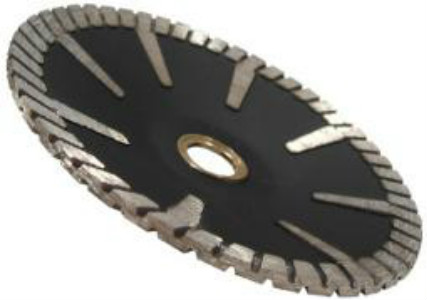 Sinter Hot-pressed Continuous Rim Aggressive Turbo Concave Blade