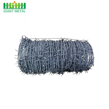 HD Chain link fence top barbed wire fence
