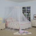Bed Canopy Hanging White Feather Umbrella Mosquito Net