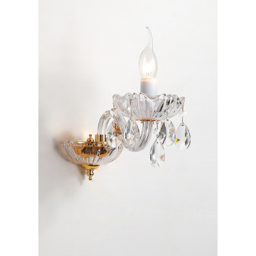 European Style Modern Decoration Classic Crystal Wall Lamp