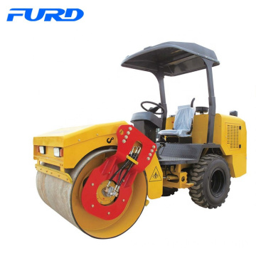 30HP Diesel Rubber Tyre Static Road Roller With 3 Ton Weight