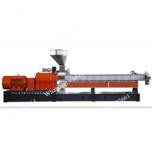 Parallel twin screw extruder for plastic