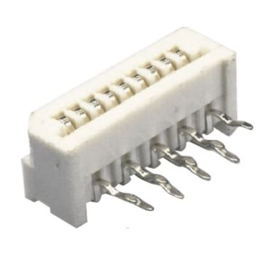 1.25mm FPC FFC Connector Dip Right angle