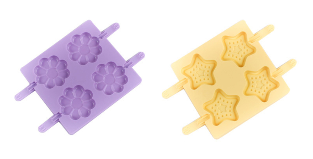 Flower Chocolate Lollipop Silicone Mold (5)