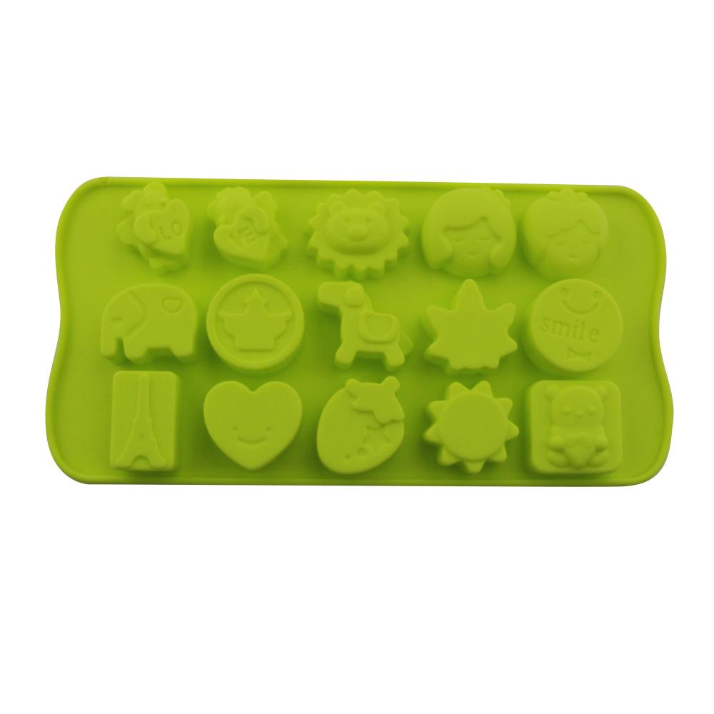 Silicone Ice Cube Trays Baking Tools Chocolate Mold