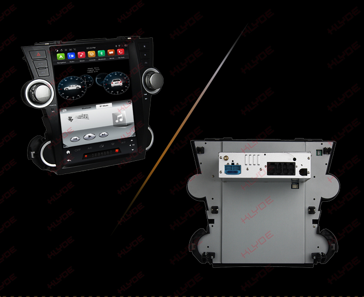 auto android for Toyota Highlander 2011