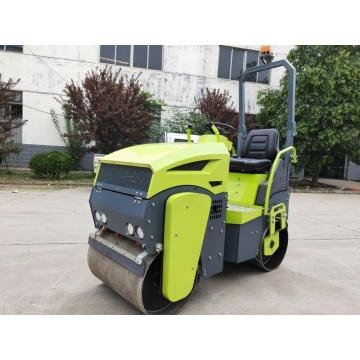 Ride-on type Double drum Vibratory Road Roller