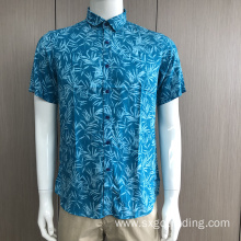 Soft viscosa short sleeve shirt