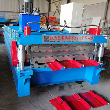 Double Layer Metal Roof Sheet Tile Making Machine