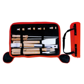 9pcs BBQ set for grilling