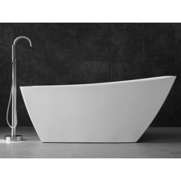 Simple Design Freestanding Indoor Deep Acrylic Bathtubs