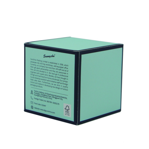 Gorgeous face cream boxes wholesale packaging
