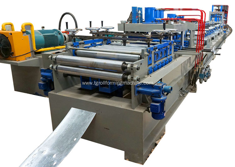 Cz Interchange Purlin Machine
