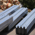 corrugated W beam Road guardrail