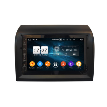 Android 9 car stereo for Fiat Ducato 2008-2015