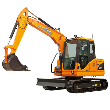 Rhinoceros 8ton crawler excavator XN80-E for sale