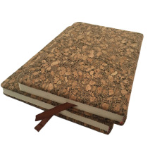 Vegan Faux Cork Pu Leather Notebook Fabric