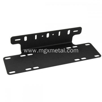 Custom Black Powder Coating Steel Jeep Light Bar Bracket