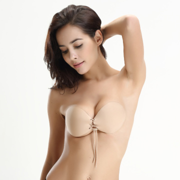 Sexy Womens Invisible Gather Bra