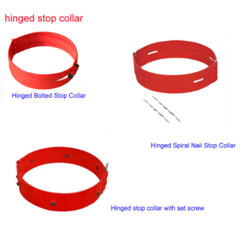 Hinged Bolted Stop Collar for Centralising
