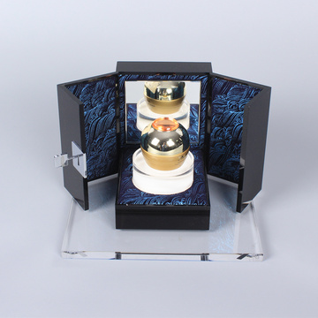 APEX Custom Cream Makeup Acrylic Display