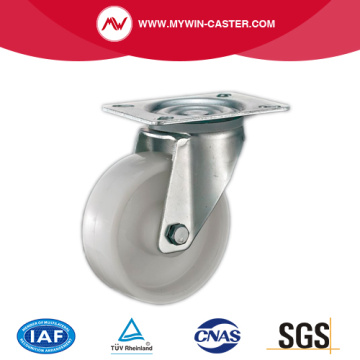 Plate Swivel PP Industrial Caster