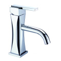 Round brass vanity wash basin faucet set