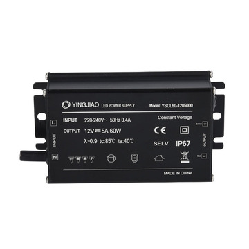 12V 24V Constant Voltage Aluminium LED Driver IP67